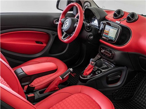 Brabus | Smart Fortwo Electric Drive Cabriolet салон