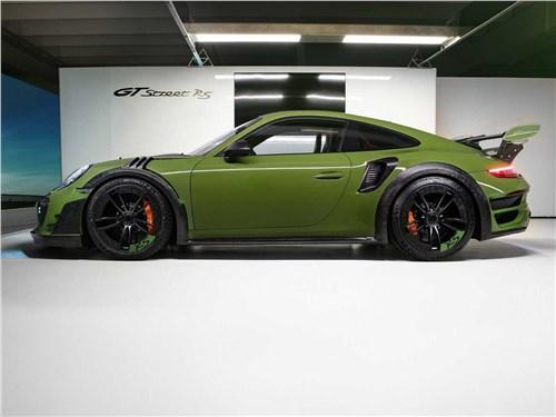 Techart | Porsche 911 Turbo S вид сбоку