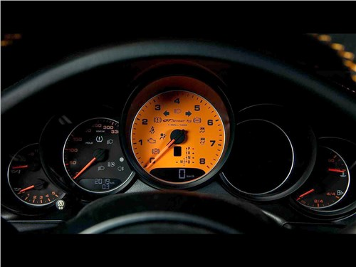 Techart | Porsche 911 Turbo S приборная панель
