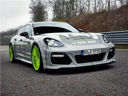 Techart | Porsche Panamera Turbo S E-Hybrid Sport Turismo вид спереди