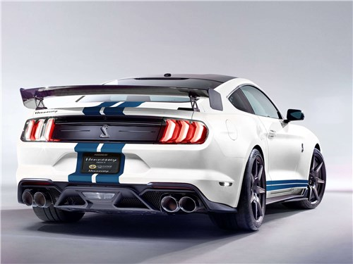 Hennessey | Ford Shelby GT500 вид сзади