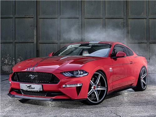 Wolf Racing | Ford Mustang вид спереди