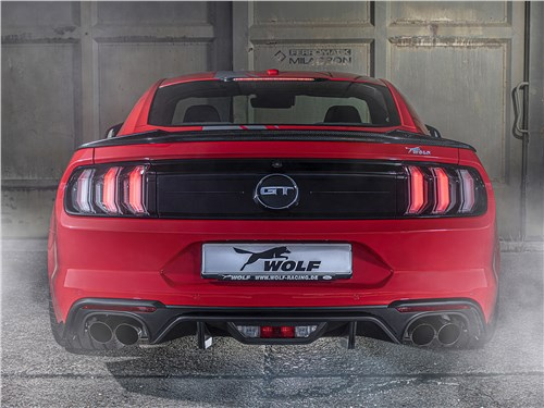 Wolf Racing | Ford Mustang вид сзади