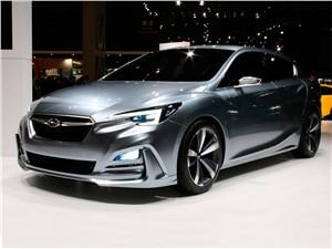 Предпросмотр subaru impreza 5-door concept 2015 вид спереди
