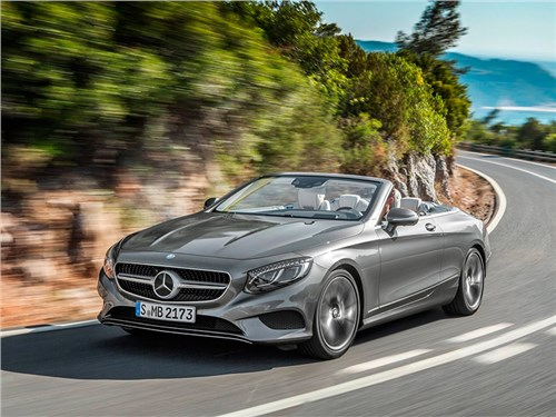 Mercedes-Benz назвал рублевые цены на кабриолет S-Class