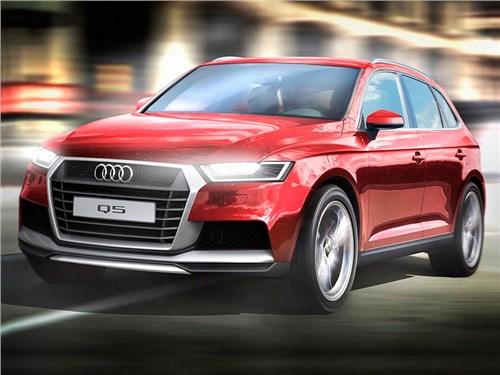 Новость по модели Audi Q5 Audi привезет в Париж новое поколение кроссовера Q5