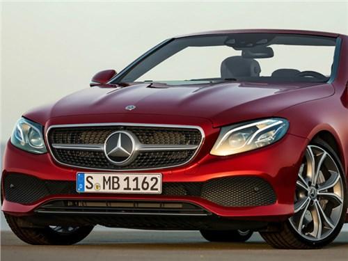 Mercedes-Benz весной представит новое поколение кабриолета E-Class