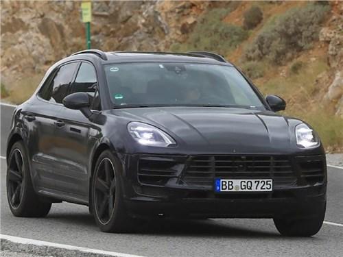 Porsche готовит обновление Macan