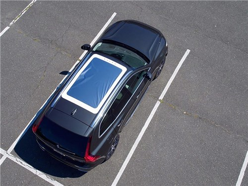 Volvo предложила опцию для просмотра солнечного затмения