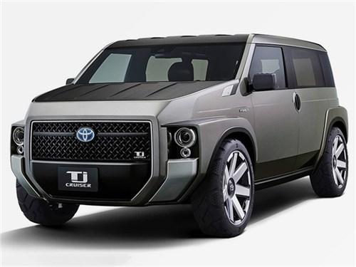 Toyota скрестила внедорожник с минивэном