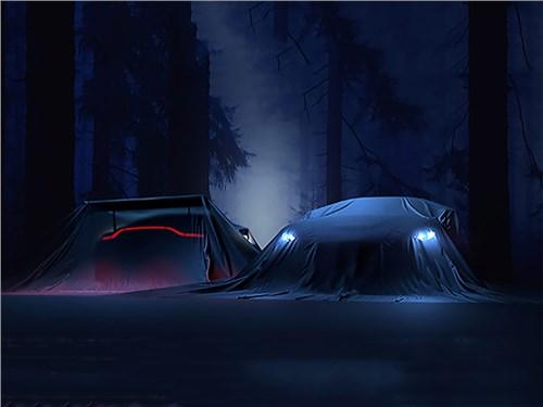 Aston Martin опубликовал первое изображение нового Vantage