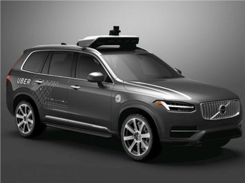 Volvo поставит Uber 24 тысячи беспилотных кроссоверов