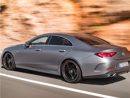 Новость про Mercedes-Benz CLS-Class - Mercedes-Benz CLS