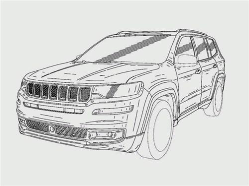 Большой семиместный Jeep: известен дизайн