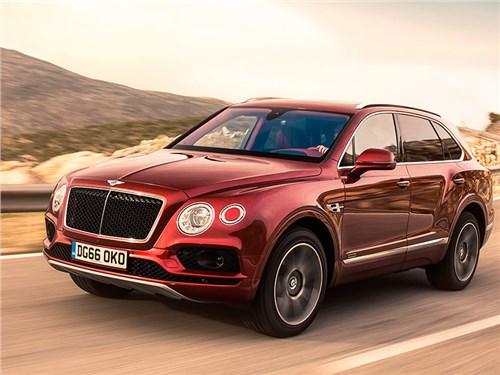 Гибридную Bentley Bentayga представят в марте