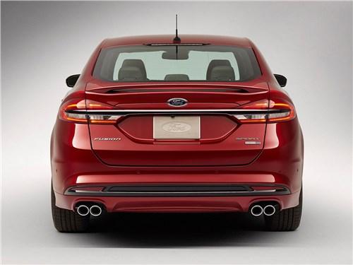 Предпросмотр ford fusion 2016 вид сзади