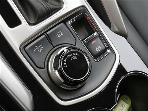 Mitsubishi Pajero Sport 2016 селектор выбора внедорожных режимов
