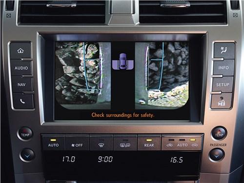 Lexus GX 2014 центральная консоль