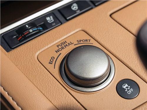 """Lexus ES 2016 """"шайба"""" выбора режимов"""