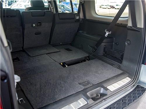 Nissan Pathfinder 2010 багажное отделение