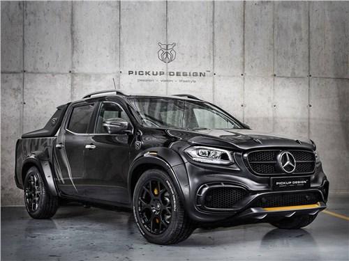 Carlex Design | Mercedes-Benz X-Class вид спереди