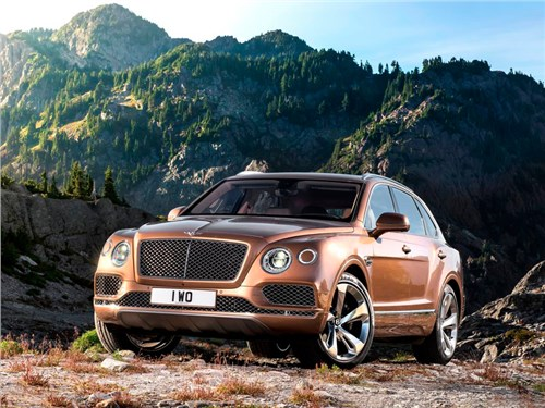 Новость про Bentley Bentayga - Bentley Bentayga