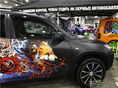 Мир тюнинга. Московское Тюнинг Шоу 2016
