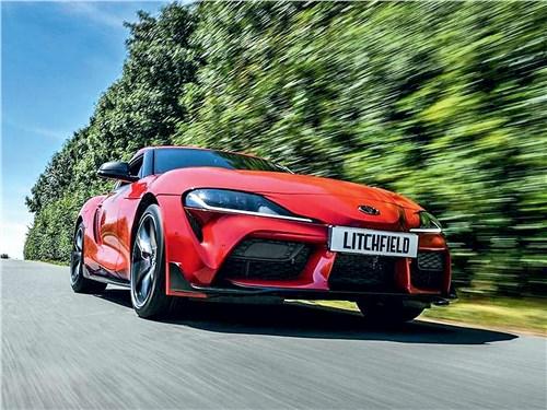 Litchfield Motors | Toyota Supra вид спереди