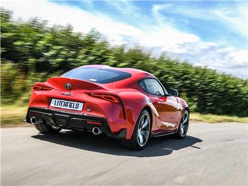 Litchfield Motors | Toyota Supra вид сзади