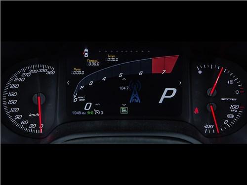 Предпросмотр chevrolet corvette z06 2015 приборная панель