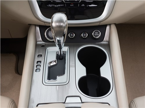 Nissan Murano 2015 селектор вариатора