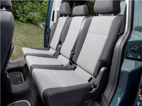 Предпросмотр volkswagen caddy maxi 2016 диван второго ряда
