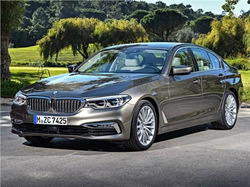 BMW озвучил российские цены нового 5-Series