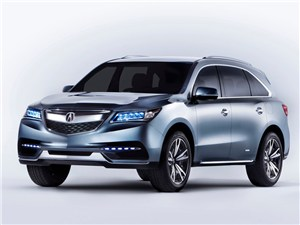 Новое поколение Acura MDX – старт продаж