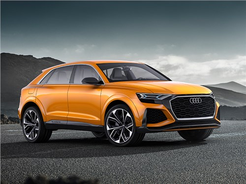 Новость про Audi Q8 - Audi Q8 sport concept 2017