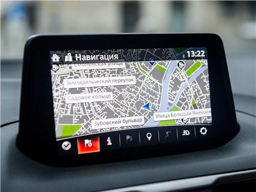 Mazda 3 sedan 2017 монитор