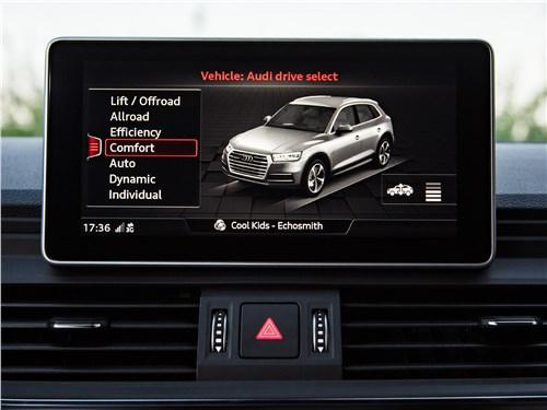 Audi Q5 2017 монитор