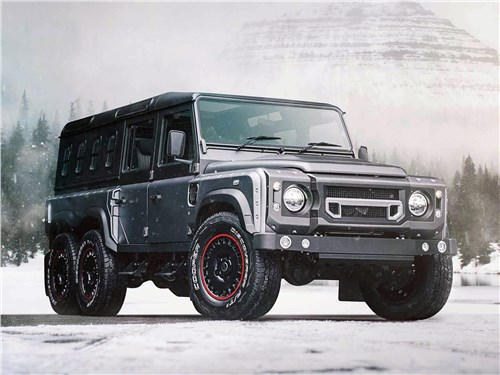 Kahn Design | Land Rover Defender вид спереди