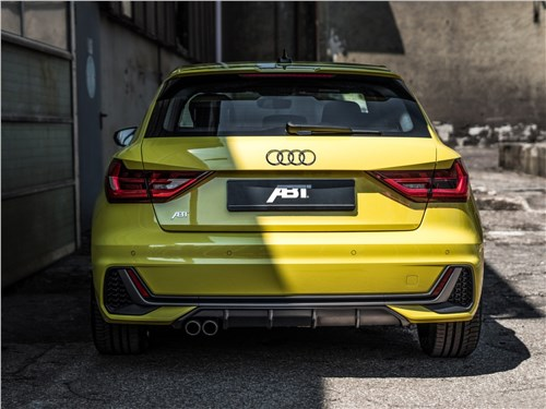 ABT Sportsline |Audi A1 Sportback вид сзади