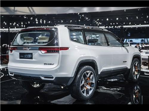 Предпросмотр jeep yuntu concept 2017 вид сзади