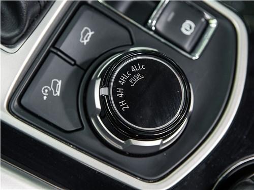 Mitsubishi Pajero Sport 2017 выбор режимов движения