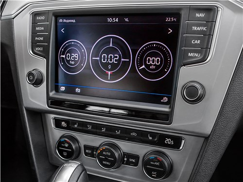 Volkswagen Passat Variant 2015 центральная консоль