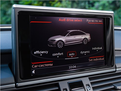 Audi A6 2015 ЖК дисплей