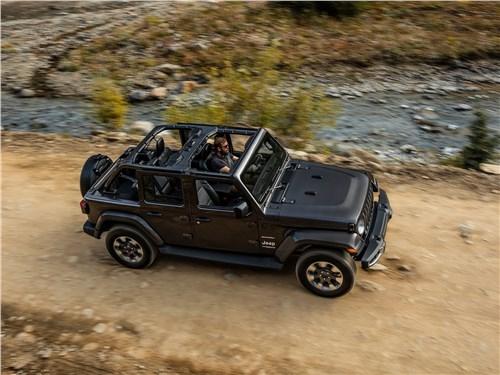Предпросмотр jeep wrangler unlimited 2018 вид сверху