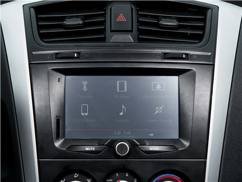 Datsun on-DO 2017 центральная консоль