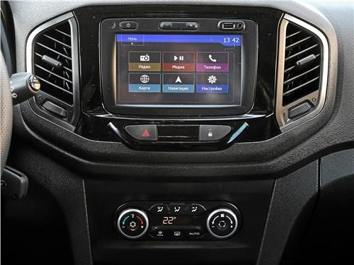 Lada XRay 2018 центральная консоль