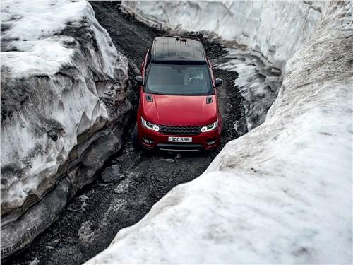 Range Rover Sport хорош и на асфальте, и за его пределами