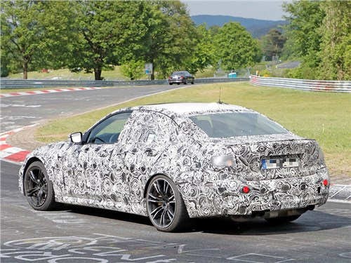 Новость про BMW - Новый BMW M3 поймали на Нюрбургринге