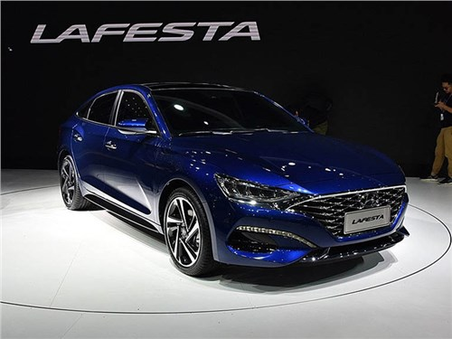 Новость про Hyundai - Hyundai Lafesta 2019