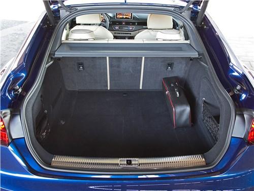 Audi A5 Sportback 2017 багажное отделение